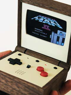 The handcrafted Pixel Vision is a retro must-have for portable gamers