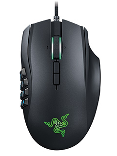 Razer Naga updated with 16,000 CPI sensor and Chroma features