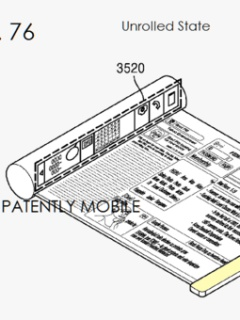 Samsung files patent for scrollable, tab-style and bendable smartphones