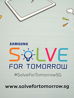 Samsung Solve for Tomorrow 2015 competition: Innovation with a social cause