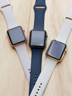 This is what 42 Apple Watch Sport Case and Band combinations look like