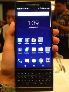 BlackBerry launches Priv at PhP 45,000