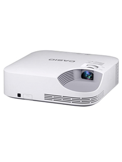 Casio's XJ-V2 laser & LED hybrid light source projector has a lifespan of up to 20,000 hours