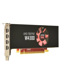The new AMD FirePro 4300 graphics card has a low-profile form factor