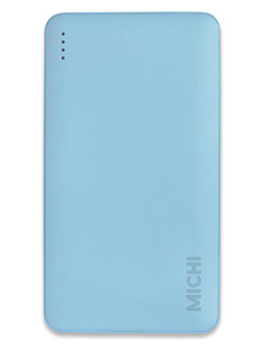 This Michi Slim 12,000mAh power bank can fast charge two devices simultaneously