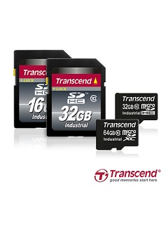 Transcend adds new 64GB microSD memory cards to its industrial-grade wide temperature lineup
