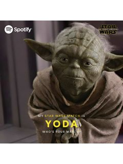 Spotify uses the Force to identify your Star Wars character