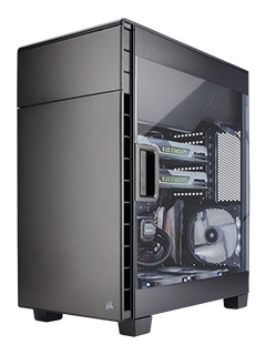 Corsair unveils Carbide 600C and 600Q inverted-ATX cases