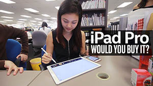 Will you buy the Apple iPad Pro?