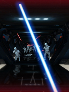 Swing your lightsaber smartphone at this Star Wars escape game by Google