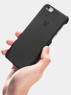 OnePlus offers a sandstone case for the iPhone 6/6S, comes with a surprise gift