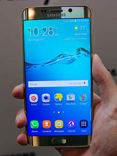Will the next Samsung flagship phone have a retina scanner?