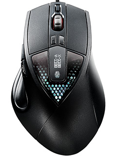 The CM Storm Sentinel III mouse is designed for the gamer with a palm grip
