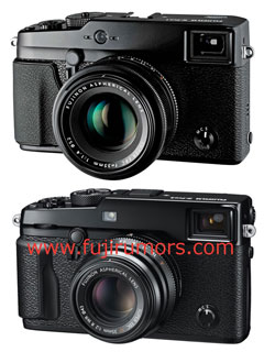 Here are leaked images of the FUJIFILM X-Pro2