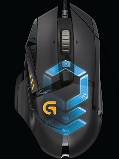 The G502 Proteus Spectrum joins Logitech's gaming arsenal