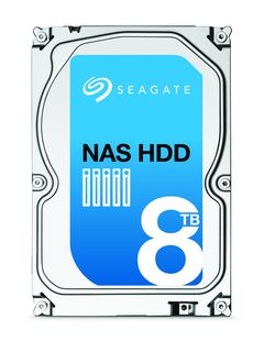 Seagate launches 8TB HDD optimized for NAS applications