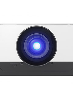 The Sony VPL-FHZ57 3LCD laser projector offers 20,000 hours of maintenance-free operation