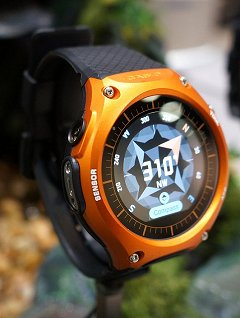 CES 2016: Casio's WSD-F10 is truly an outdoor smartwatch