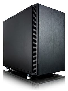 You can build a silent, powerful system with Fractal Design's Define Nano S mini-ITX case