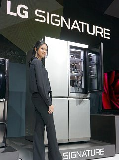 A look at LG's new Signature Series - Premium 4K OLED TV and home appliances