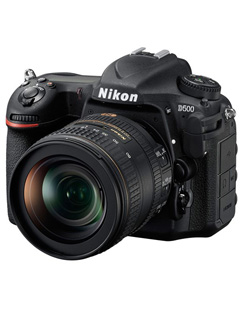 Nikon's D500 is its premium APS-C camera. Sports the same AF system as the new D5