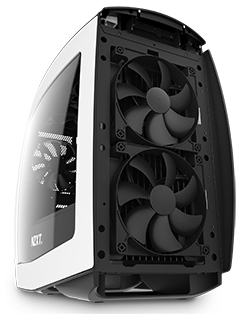 NZXT introduces the Manta, their first mini-ITX case