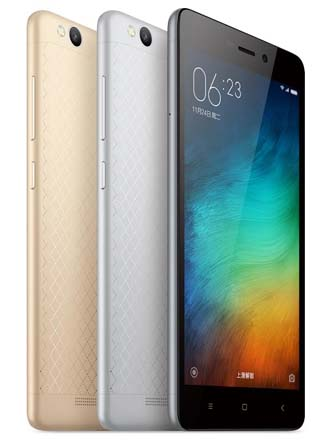 Xiaomi unveils full metal body Redmi 3 with 4,100mAh battery