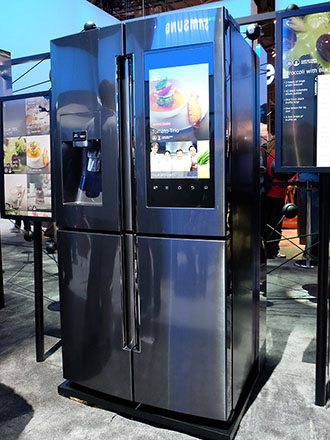 CES 2016: New smart fridge from Samsung has a 21.5-inch touchscreen, lets you order groceries
