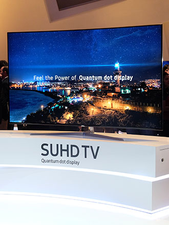 Samsung's 2016 SUHD TV lineup looks to continue a decade of TV market dominance