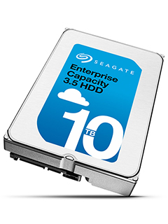Seagate launches 10TB helium-filled drive for enterprise data centers