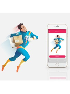 Fast as lightning: Zap Delivery delivers your items in under two hours