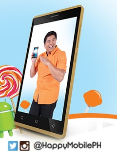 The Happy Mobile D-Lite Plus 2 is now available for PhP 2,999