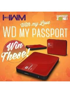 Win a WD My Passport Ultra by joining our With My Love, WD My Passport contest!