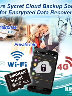 Sycret Cloud encryption card keeps android smartphone safe from Wi-Fi security gaps