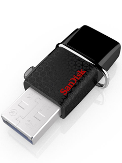 SanDisk doubles storage space with their latest Dual USB Drive