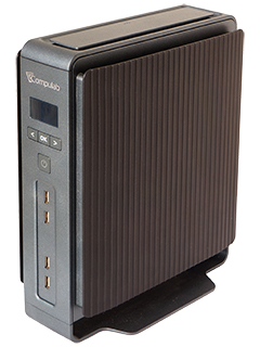 SFF PC from Compulab is a fanless rig with an Intel i7 processor and a GTX 950