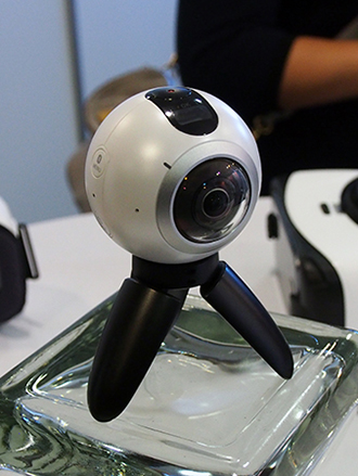 Hands-on with the Samsung Gear 360