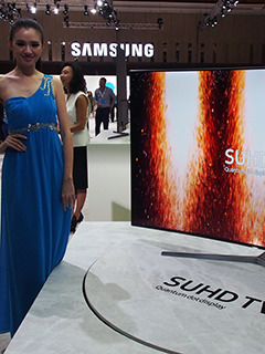 This feature-filled SUHD television is Samsung's 2016 flagship model