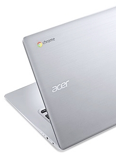 The new Acer Chromebook 14 goes premium and boasts of a battery life of 12 hours!