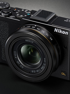 Small but powerful. Meet Nikon's new DL series