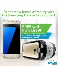 Smart offers Samsung Galaxy S7 FREE at Surf Plus Plan 1999