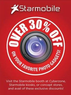 Over 30% off on selected Starmobile devices for SM's 30th anniversary