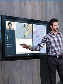 After a couple of delays, Microsoft is now shipping the Surface Hub to customers