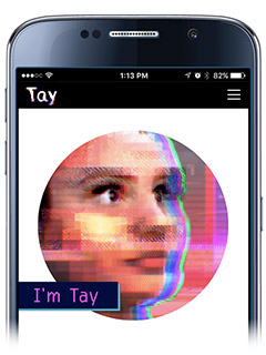 Microsoft has made an AI chatbot, and her name is Tay (Update: Terminated!)