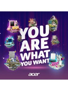 Discover what you want, and win with Acer