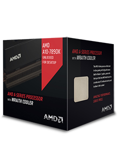 AMD introduces new flagship A10-7890K APU and Wraith cooler