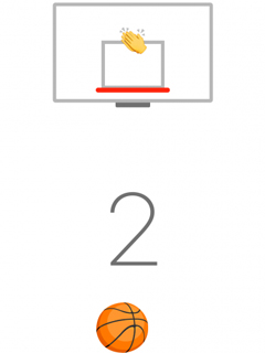 Facebook Messenger app has a hidden basketball game