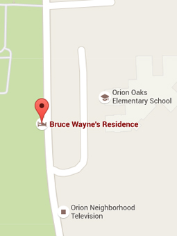 Explore the Batcave on Google Maps