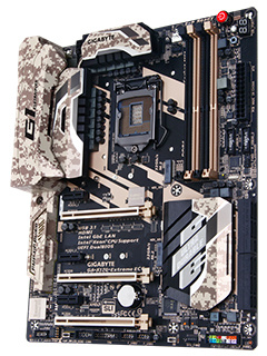 The Gigabyte X170 Extreme ECC is one feature-packed workstation motherboard