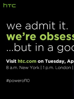 HTC schedules online event on 12 April to launch its flagship smartphone